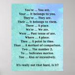 O inglês não é esse duro impressão