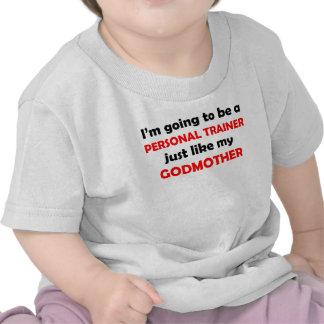 O instrutor pessoal gosta de minha madrinha tshirt