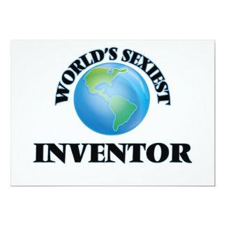 """O inventor o mais """"sexy"""" do mundo convite personalizado"""
