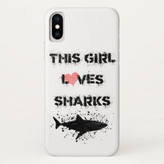 o iPhone X, este meninas ama a capa de telefone