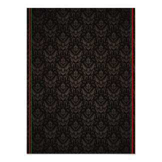 O italiano elegante do cartão do contexto colore o convite 16.51 x 22.22cm