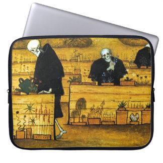 O jardim da morte por Hugo Simberg 1896 Capas Para Computadores