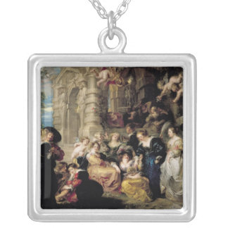 O jardim do amor, c.1630-32 bijuterias