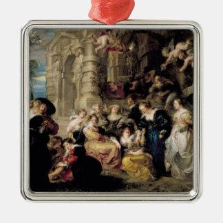 O jardim do amor, c.1630-32 enfeite