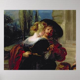 O jardim do amor, c.1630-32 posters