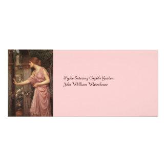 O jardim do Cupido entrando da psique Modelo De Panfleto Informativo