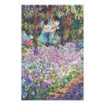 O jardim Giverny do artista Papelaria