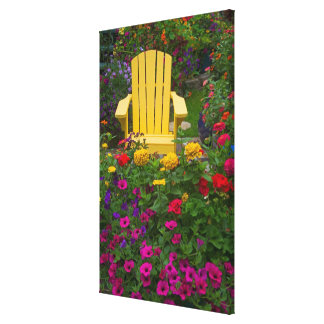 O jardim projeta em nosso jardim Sammamish, 2 Impressão De Canvas Envolvida