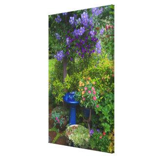 O jardim projeta em nosso jardim Sammamish, 2 Impressão De Canvas Envolvidas