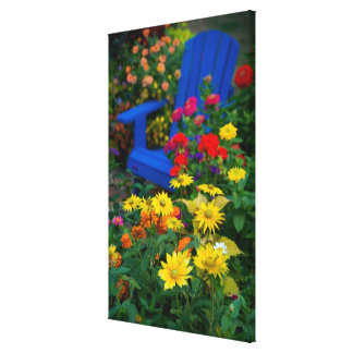 O jardim projeta em nosso jardim Sammamish, 3 Impressão Em Tela Canvas