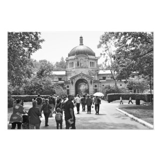 O jardim zoológico de Bronx Impressão Fotográfica