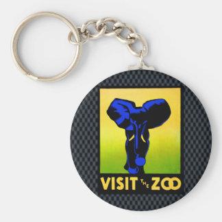 O jardim zoológico!! chaveiro