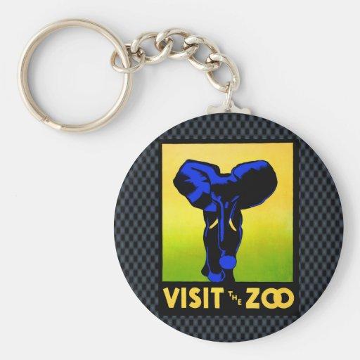 O jardim zoológico!! chaveiros