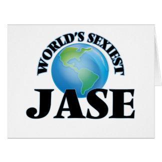"""O Jase o mais """"sexy"""" do mundo Cartão"""
