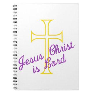 O Jesus Cristo é senhor Cadernos Espirais