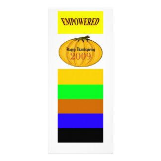 O jGibney 2009Empowed feliz da série do artista do Planfetos Informativos Coloridos