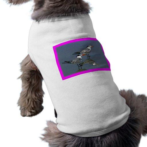 O jGibney Birds2CocoaBeach1 da série do artista do Roupas Para Pets