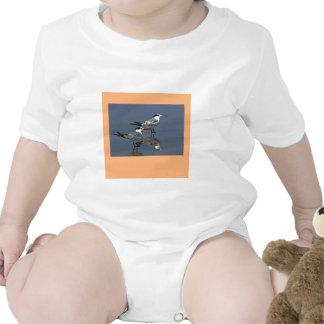 O jGibney Birds2CocoaBeach1 da série do artista do Macacãozinhos Para Bebê