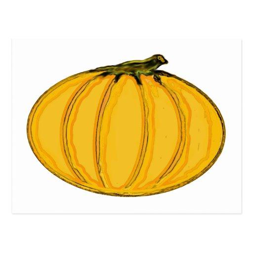 O jGibney pumpkin7tc100 da série do artista do Cartao Postal
