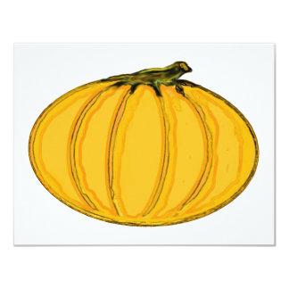O jGibney Pumpkin7tc100 da série do artista do Convites Personalizado