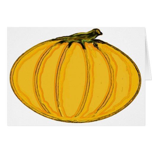 O jGibney pumpkin7tc100 da série do artista do MUS Cartao