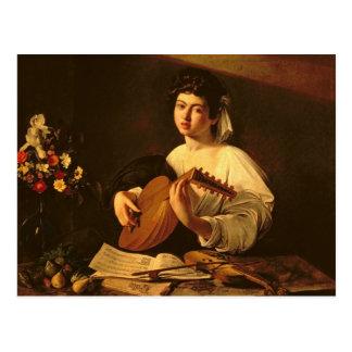 O jogador do alaúde, c.1595 cartões postais