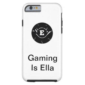O jogo é capa de telefone de Ella