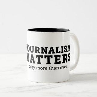 O jornalismo importa hoje caneca