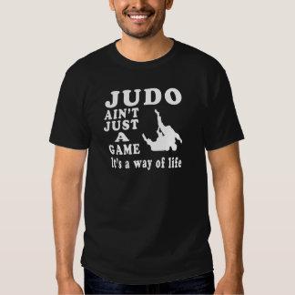 O judo não é apenas um jogo que é um modo de vida camisetas