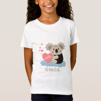 O Koala bonito afaga ID386 Camiseta