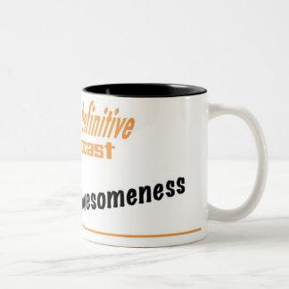 O Krus de Awesomeness Caneca De Café Em Dois Tons