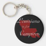 O KRW Louisiana é para vampiros Chaveiro