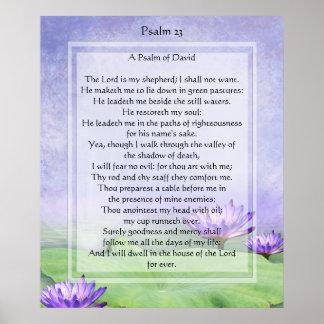 O KRW o senhor é meu impressão do salmo 23 do