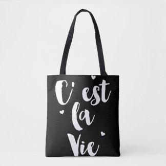 O la   de C'est do ♛ vie o saco de bolsa