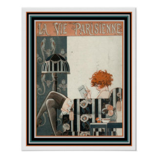 O La do art deco Vie Parisienne 16 x o poster 20