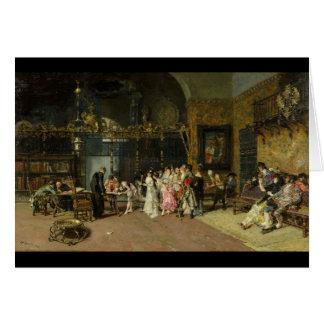 O La espanhol Vicaría do casamento por Mariano For Cartão
