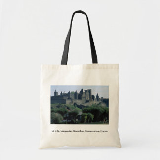 O La menciona, Languedoc-Roussillon, Carcassonne,  Sacola Tote Budget
