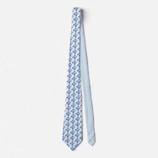 O laço de seda dos homens, azul marinho floresce, gravata
