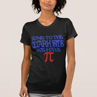O lado do Quark Camiseta