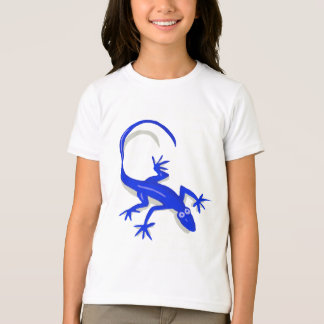 o lagarto dos azuis marinhos caçoa a camisa