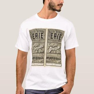 O Lago Erie e estrada de ferro ocidental Camiseta
