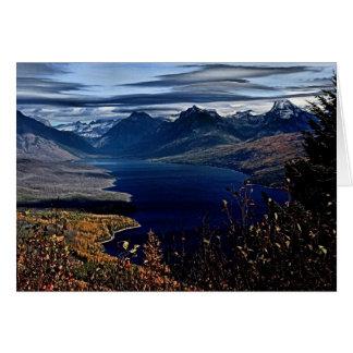 O lago McDonald negligencia Cartão Comemorativo