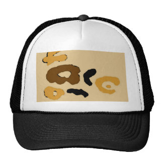 "O ""leopardo mancha"" a arte & o design de CricketDi Boné"