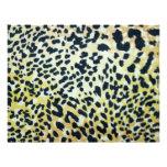 O leopardo mancha o papel de Scrapbooking Modelos De Papel De Carta