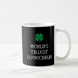 O Leprechaun o mais alto Caneca De Café