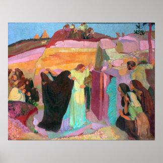 O levantamento de Lazarus, 1919 Pôster