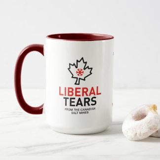 O liberal da caneca 15ox do Dois-Tom rasga o