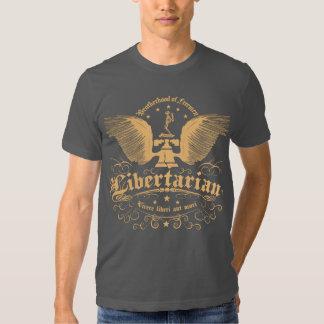 """O libertário """"vive não camisa pela espada"""" t-shirts"""