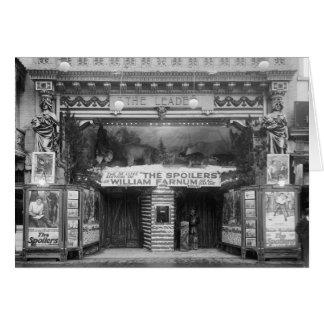 O líder Teatro, 1921 Cartões