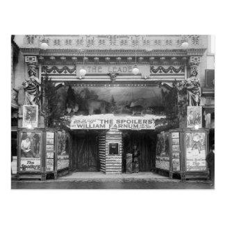 O líder Teatro, 1921 Cartão Postal